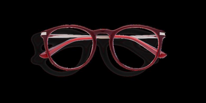 Lunettes de vue femme ZELDA rouge