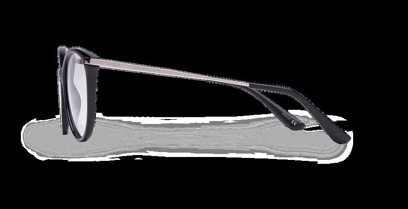 Lunettes de vue femme GILIAN noir - Vue de côté