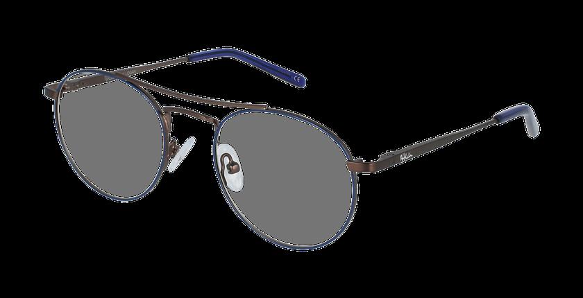 Lunettes de vue enfant LOGAN bleu/gris - vue de 3/4