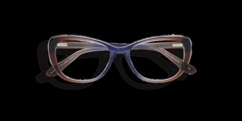 Lunettes de vue femme CINDY marron/violet