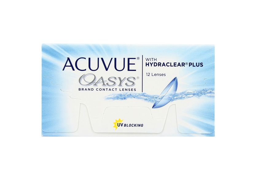 Lentilles de contact Acuvue® Oasys® with Hydraclear® Plus 12L - danio.store.product.image_view_face