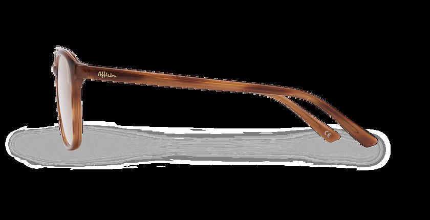 Lunettes de vue homme CLOVIS marron - Vue de côté