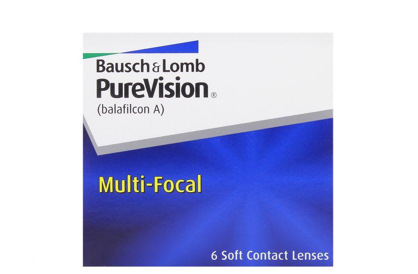 Lentilles de contact PureVision Multifocal - Vue de face
