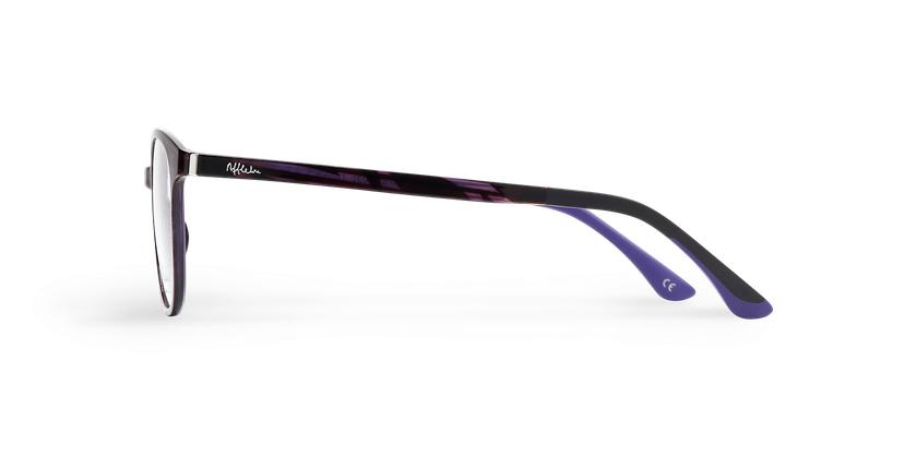 Lunettes de vue femme MAGIC 09 violet/violet foncé - Vue de côté