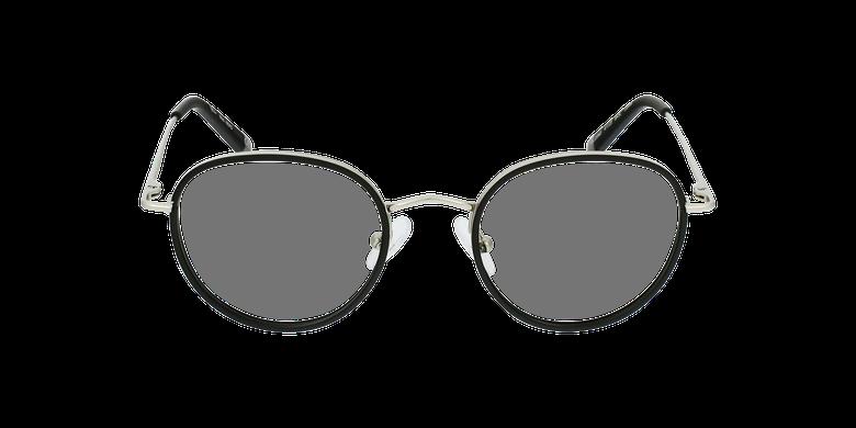 Lunettes de vue enfant NERD noir/argentéVue de face