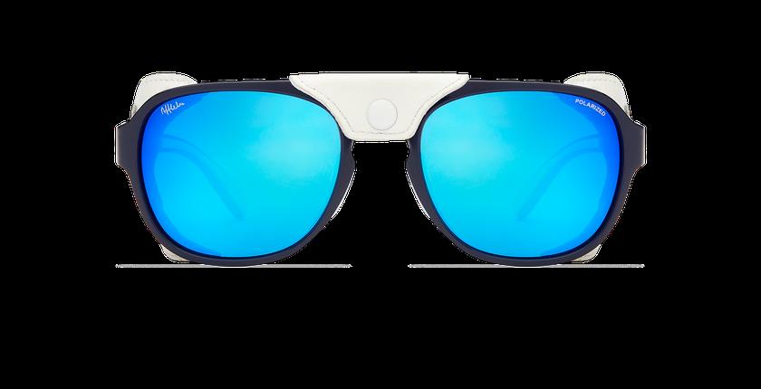 Lunettes de soleil homme SCHUSS bleu - Vue de face