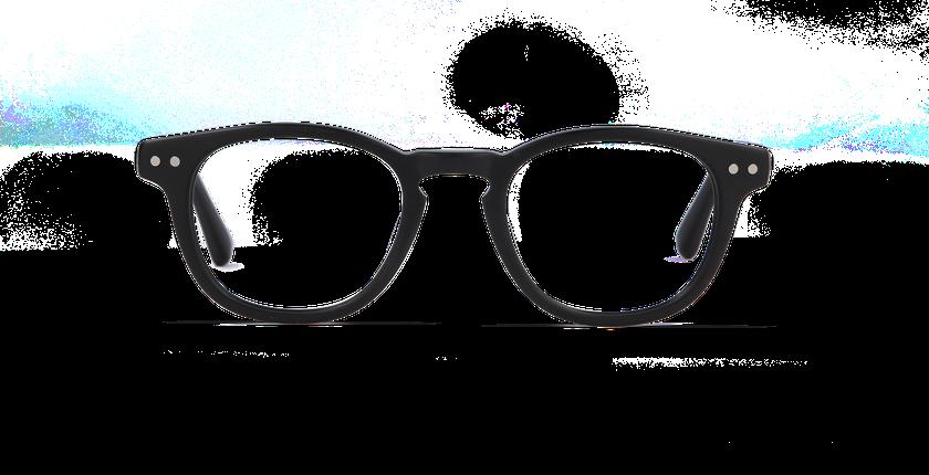 Lunettes de vue enfant SASHA noir - Vue de face