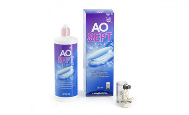 Aosept Plus 360ml - Vue de face