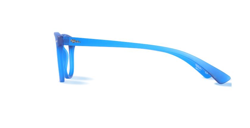Lunettes de vue BLUE BLOCK MIXTE bleu - Vue de côté