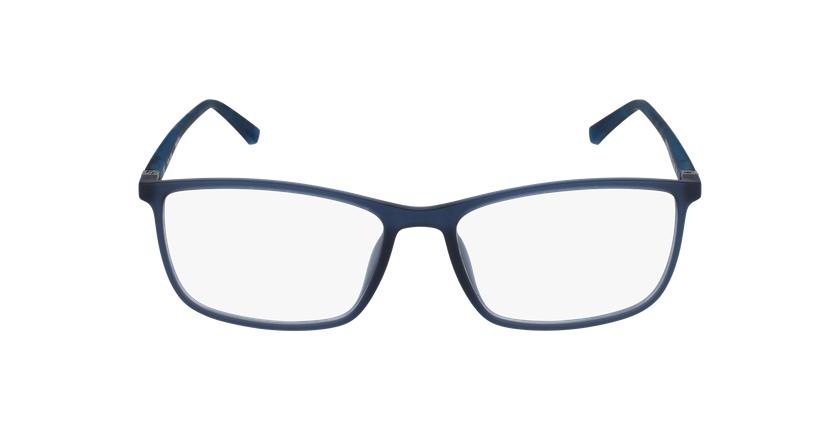 Lunettes de vue homme VPL255 gris/bleu - Vue de face