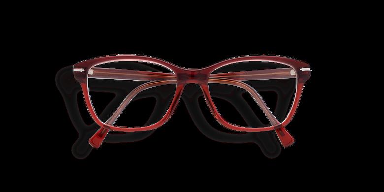Lunettes de vue femme LADOYE bleu/rouge