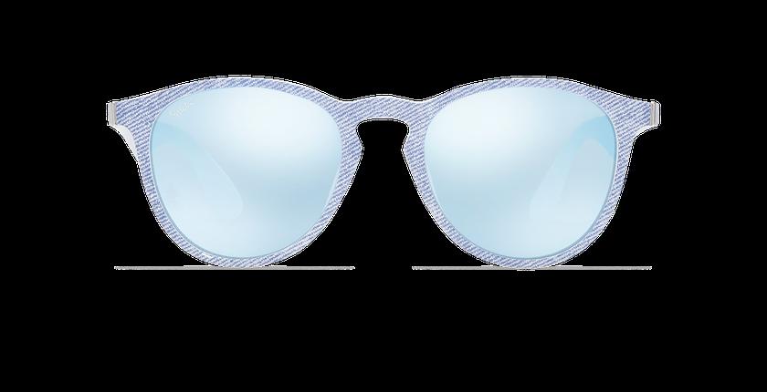 Lunettes de soleil femme VARESE bleu - Vue de face