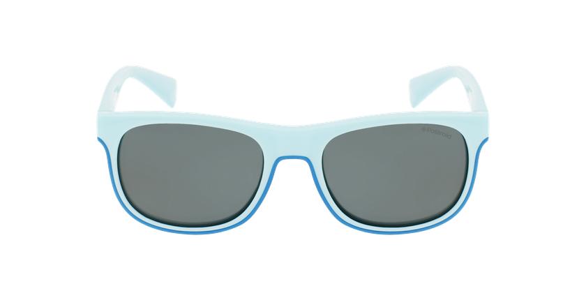 Lunettes de soleil enfant PLD 8035/S turquoise - Vue de face