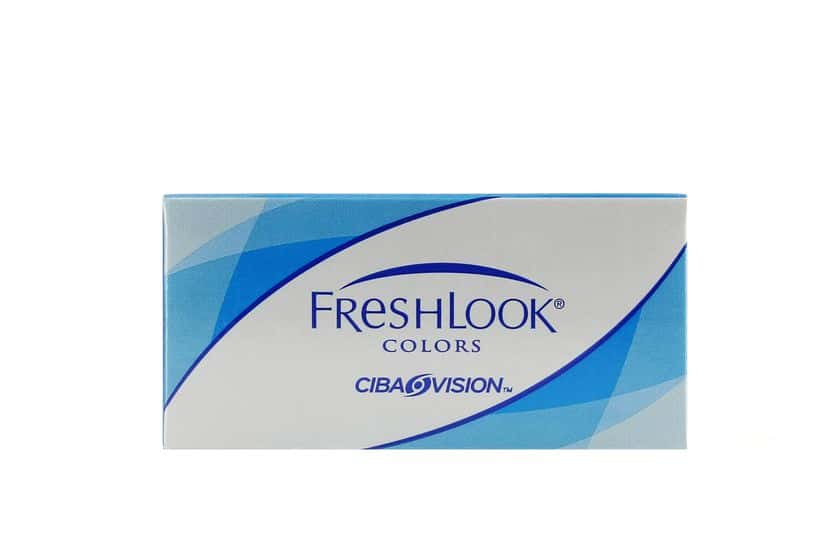 Lentilles de contact FreshLook Colors Violet 2L - Vue de face