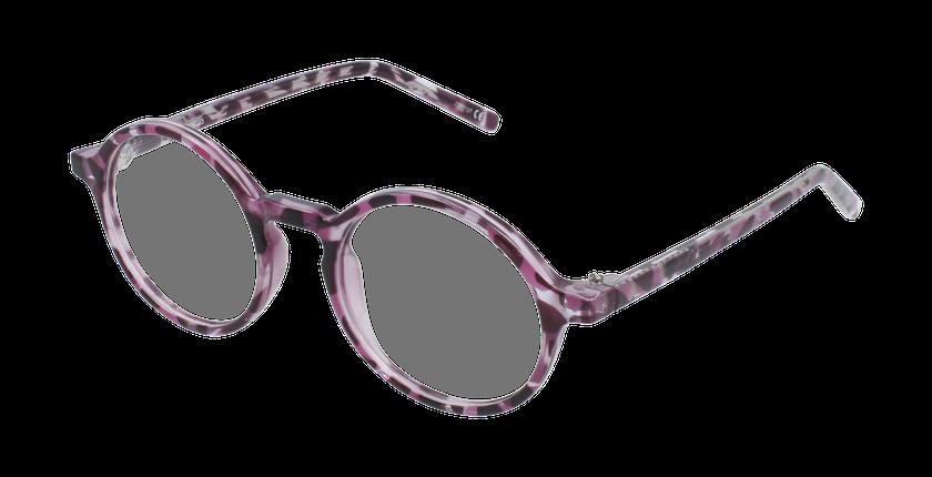 Lunettes de vue enfant RZERO23 écaille/violet - vue de 3/4