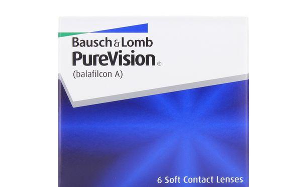 Lentilles de contact PureVision - Vue de face