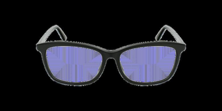 Lunettes de vue femme MONTAIGNE55F noirVue de face