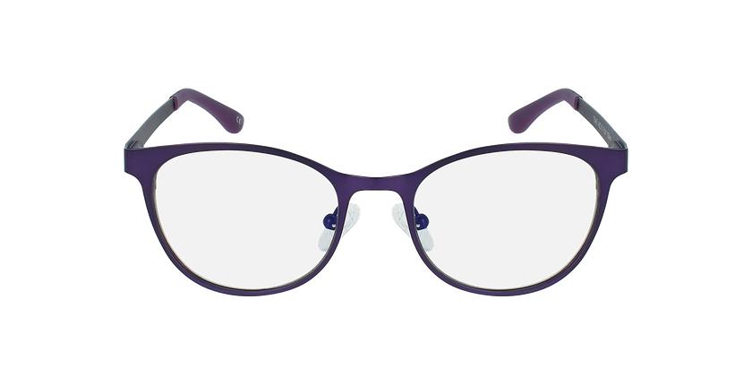 Lunettes de vue femme MAGIC 45 BLUEBLOCK violet - Vue de face