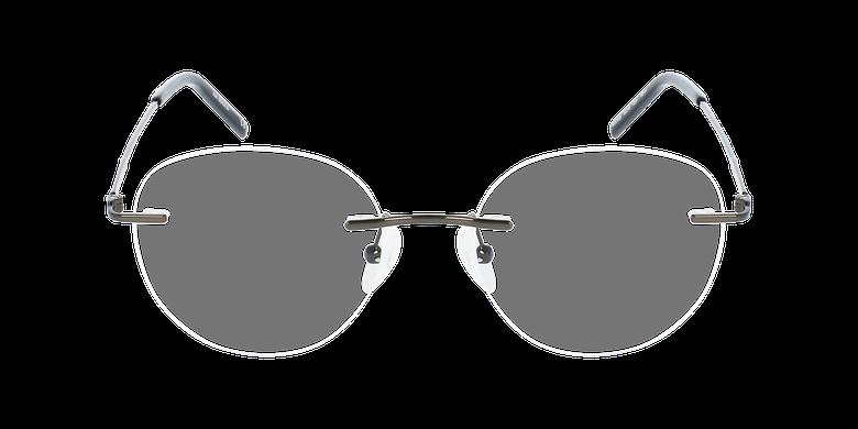 Lunettes de vue homme IDEALE-22 grisVue de face