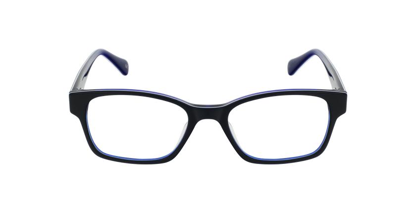 Lunettes de vue femme LYS bleu - Vue de face