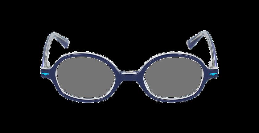 Lunettes de vue enfant SEA bleu - Vue de face