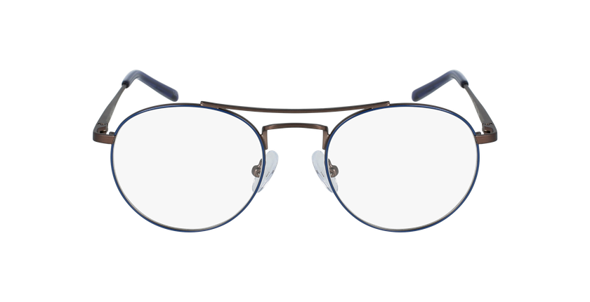 Lunettes de vue enfant LOGAN bleu/gris - Vue de face