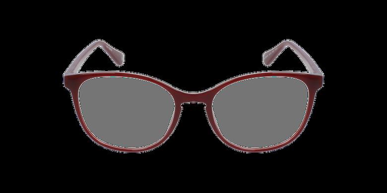Lunettes de vue femme RZERO5 rougeVue de face