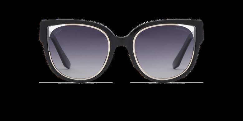 Lunettes de soleil femme MAHEA POLARIZED noir/argenté
