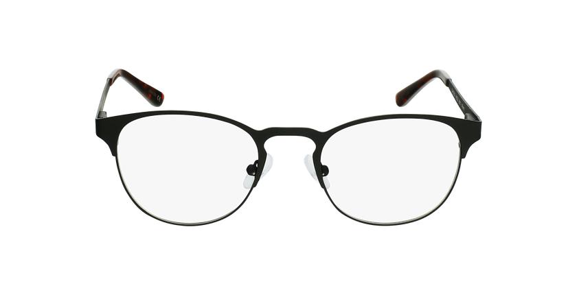 Lunettes de vue homme XAVIER noir - Vue de face