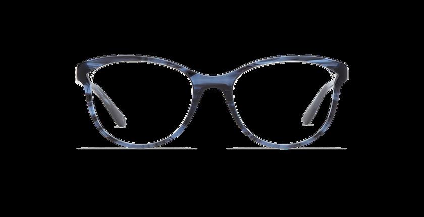 Lunettes de vue femme MADELINE bleu - Vue de face
