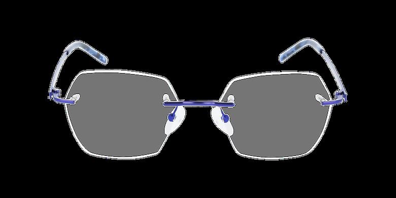 Lunettes de vue femme IDEALE-27 violetVue de face