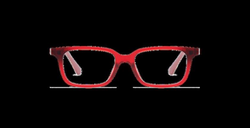 Lunettes de vue enfant SMART TONIC 12 rouge - Vue de face