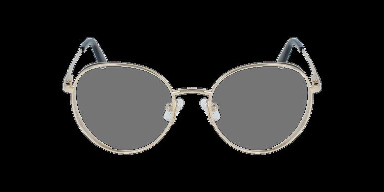 Lunettes de vue femme GU2700 doré/noirVue de face