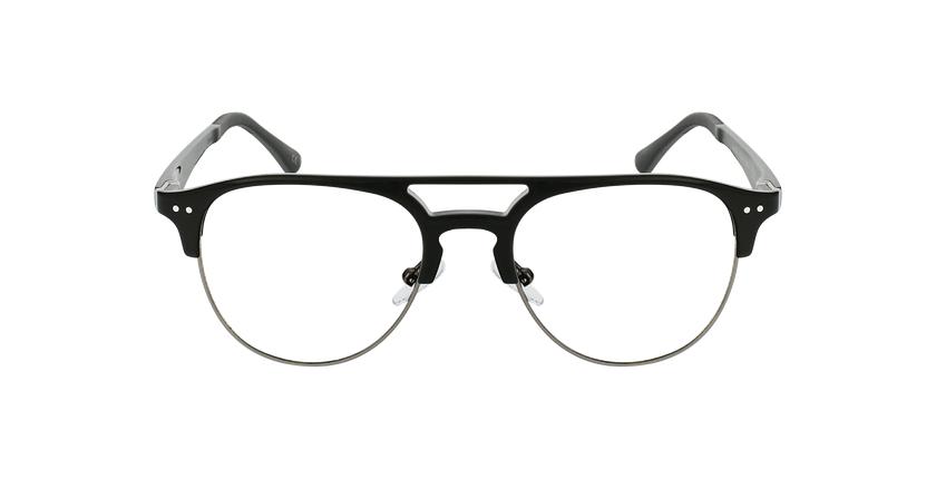 Lunettes de vue homme MAGIC 91 noir/gris - Vue de face