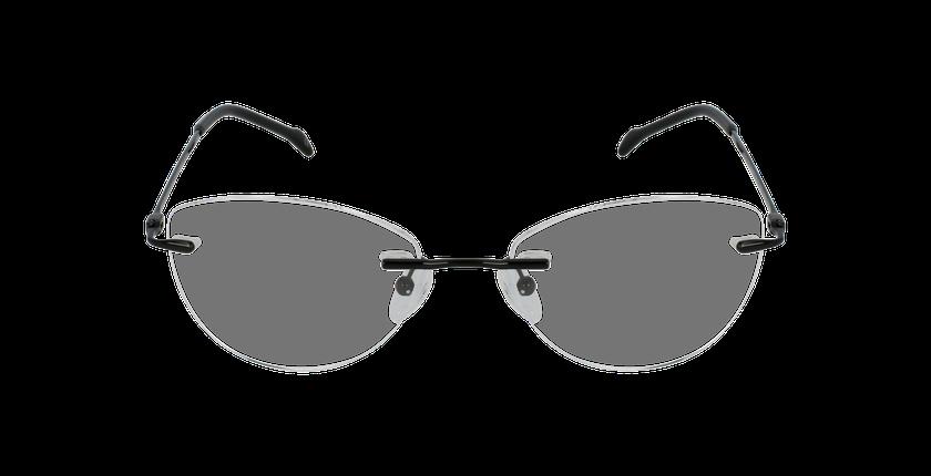 Lunettes de vue femme IDEALE-15 noir - Vue de face
