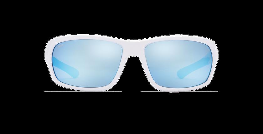 Lunettes de soleil OLAS blanc - Vue de face