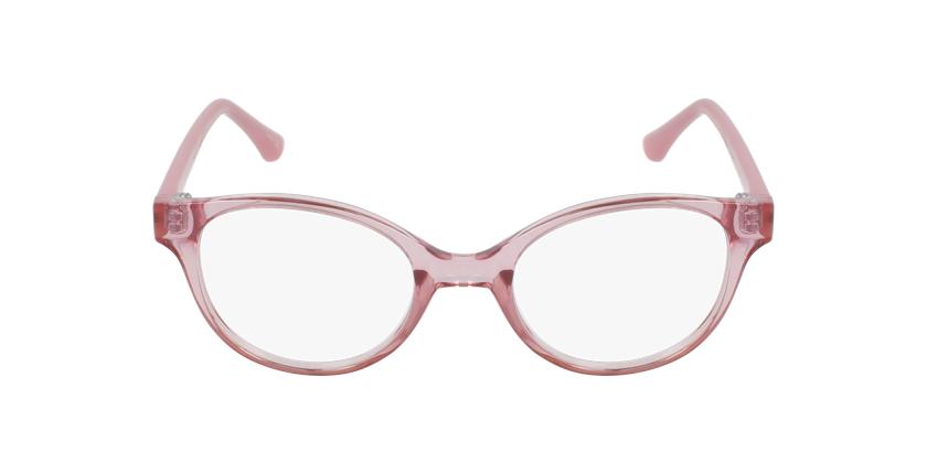 Lunettes de vue enfant RZERO21 rose - Vue de face