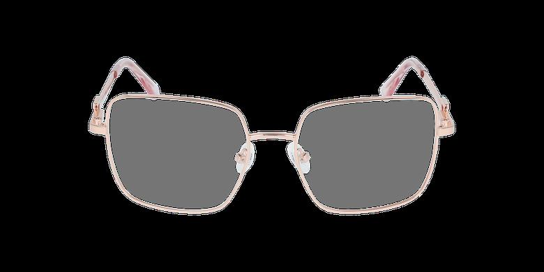 Lunettes de vue femme GU2728 doré/rose