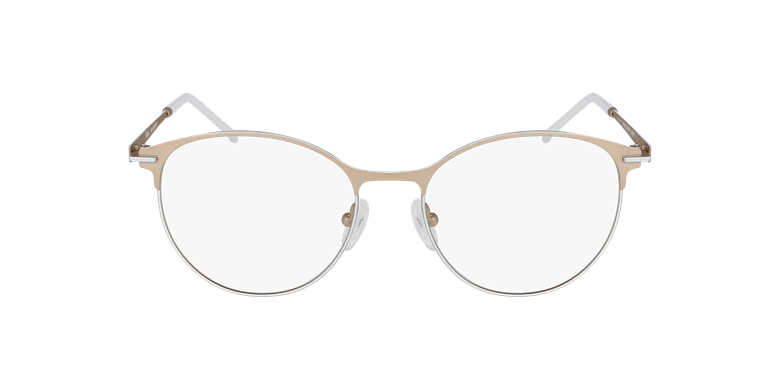 Lunettes de vue femme MEROPE beige/blanc