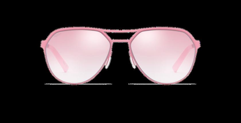 Lunettes de soleil homme DAYTONA rose - Vue de face