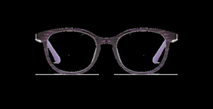 Lunettes de vue femme SMART TONIC 09 violet/violet foncé - Vue de face