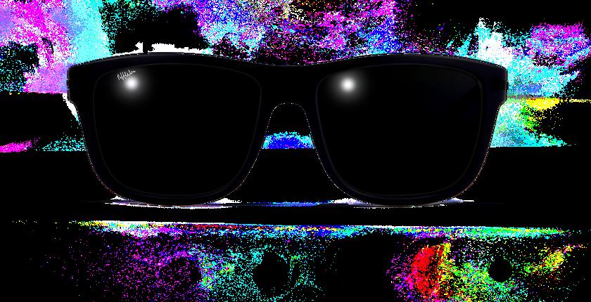 Lunettes de soleil homme DIEGO bleu - Vue de face