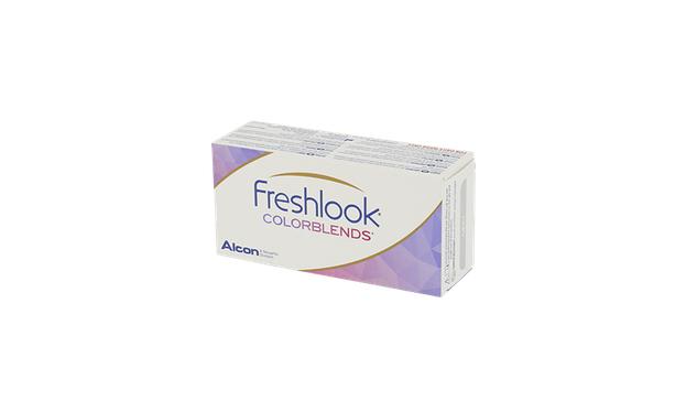Lentilles de contact FreshLook ColorBlends 2L - Vue de face