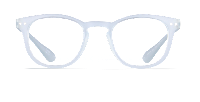 Lunettes de vue BLUE BLOCK MIXTE cristal - Vue de face