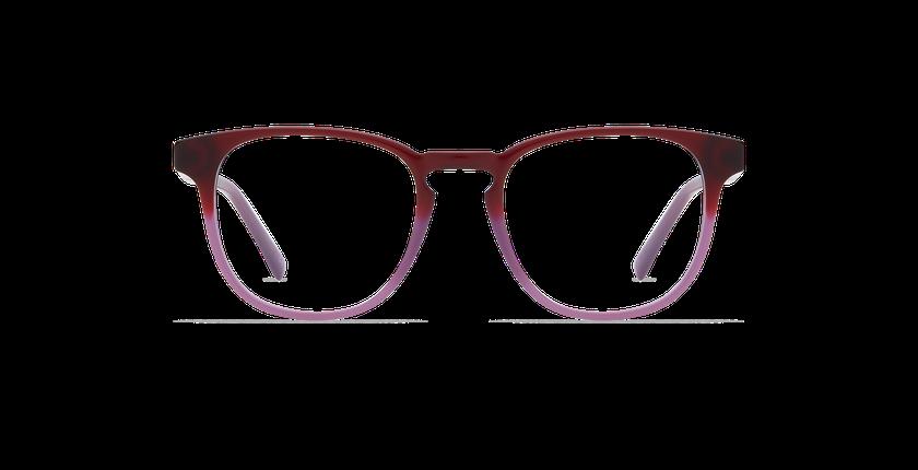 Lunettes de vue homme BLAISE violet - Vue de face