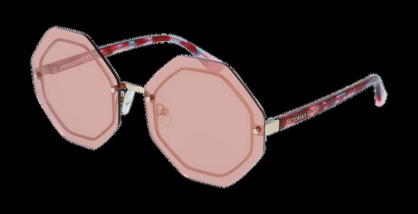 Lunettes de soleil femme VS0024 rose - vue de 3/4