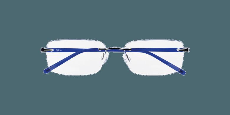 Lunettes de vue homme LIGHT TONIC argenté/bleu