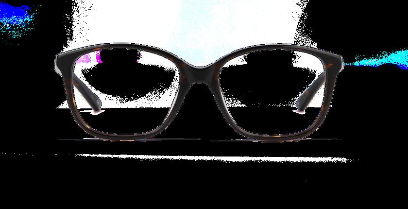 Lunettes de vue femme AMBRE écaille - Vue de face