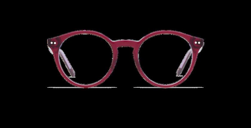 Lunettes de vue ANIS violet - Vue de face