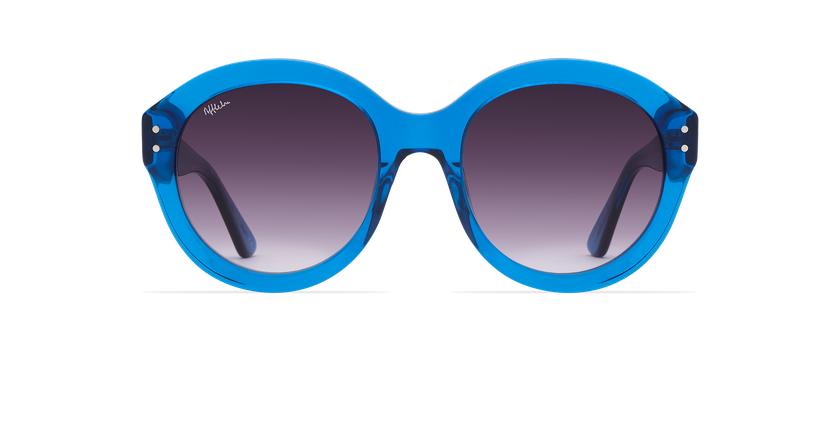 Lunettes de soleil femme ALYSSA bleu - Vue de face